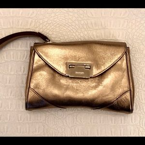 Kate Spade gold wristlet authentic